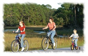 Bicycling in Sea Pines