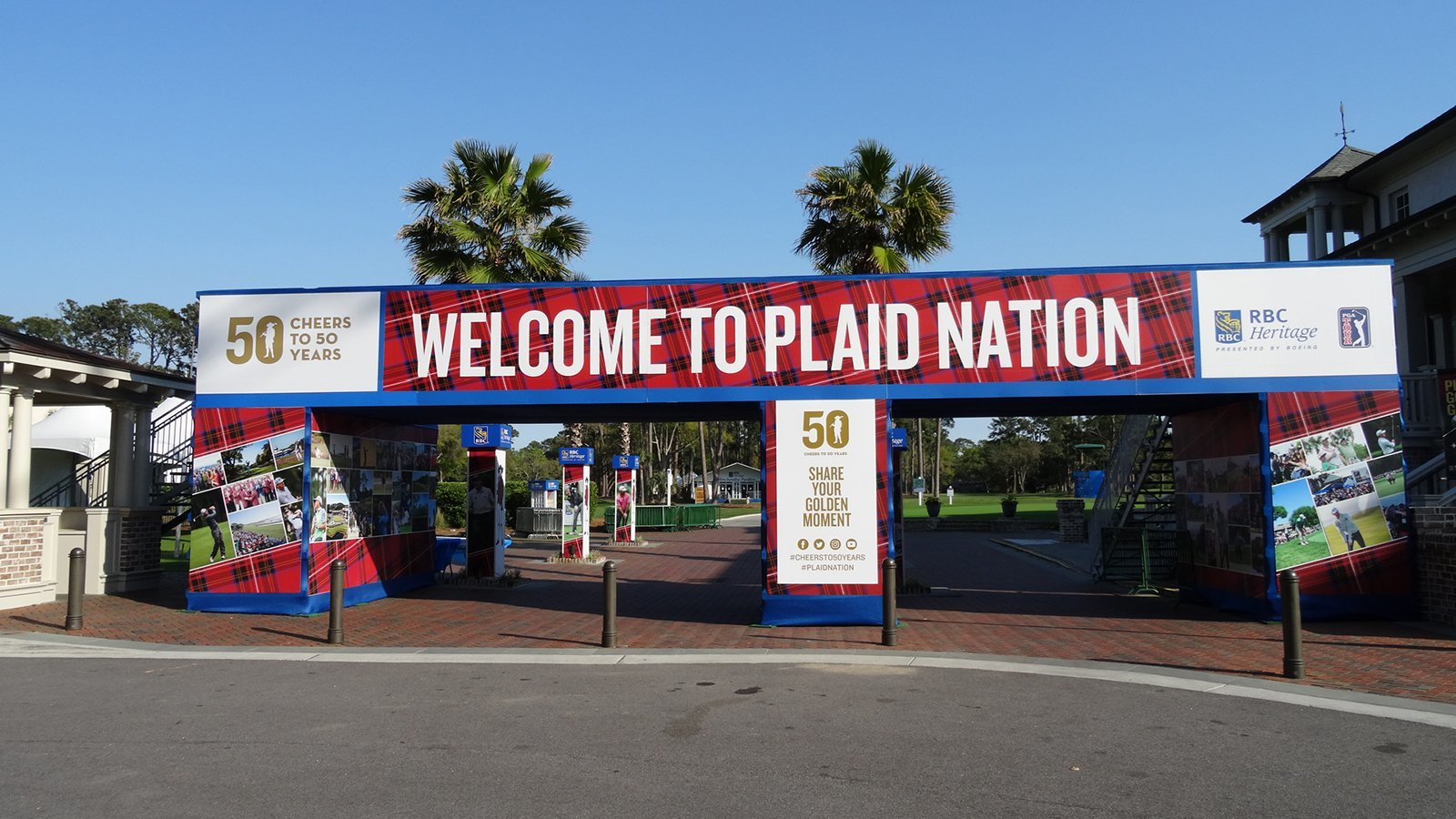 2018 RBC Heritage Welcomes You to Plaid Nation